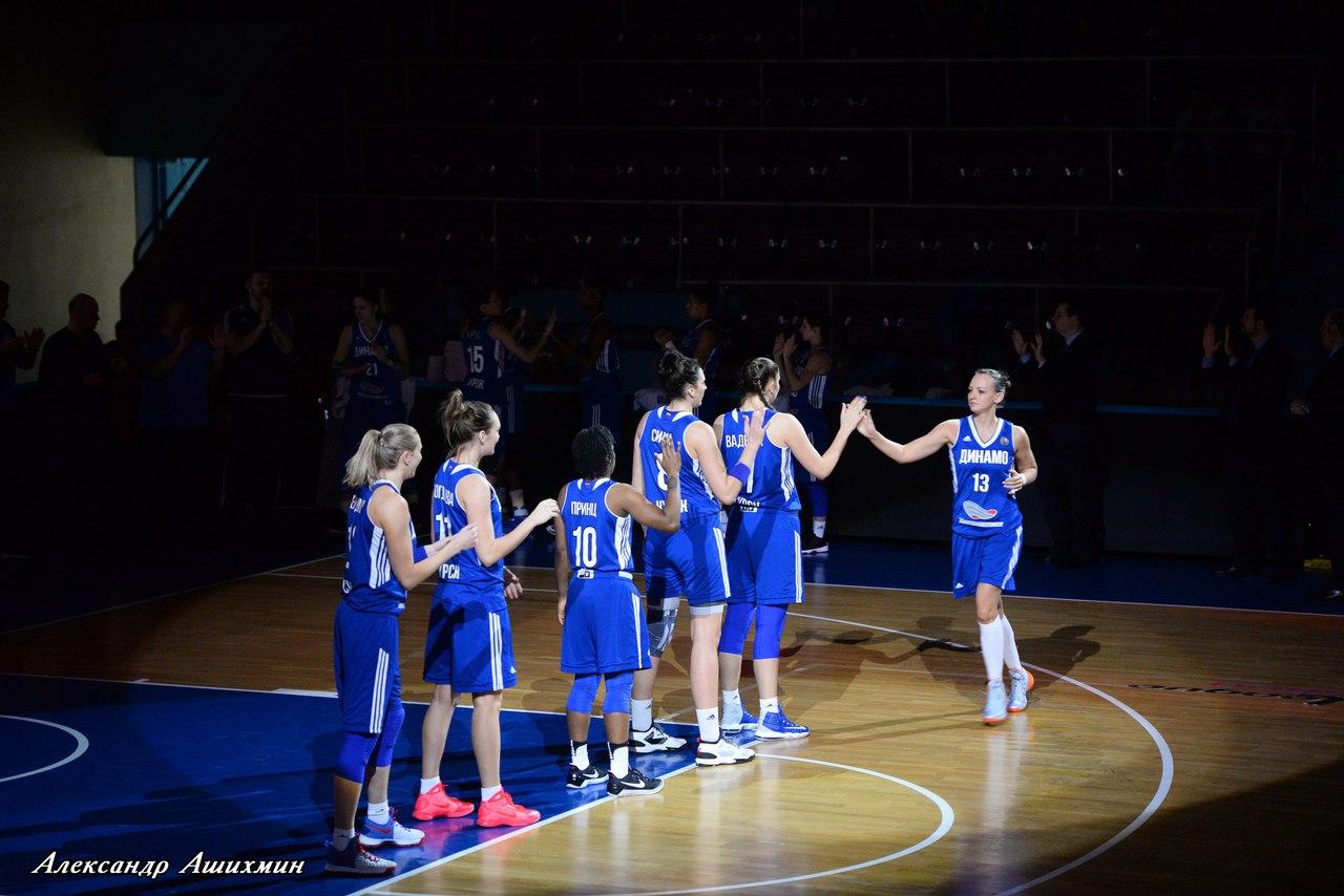 Курское «Динамо» одержало 10-ю подряд победу нагрупповом этапе Евролиги