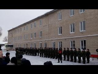 Присяга 190 ВШП, 4 рота, 3 взвод (22.01.2017)