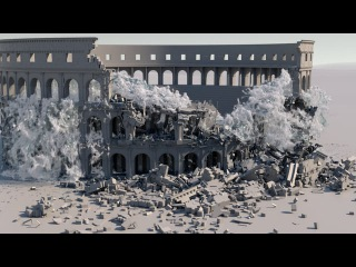 Colosseum_Water_Flood_Houdini_Mantra