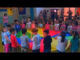 Открытый урок музыки в Итальянском детском саду. Николь зажигает!