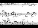 Toru Takemitsu - In The Woods for Guitar (1995) [Score-Video][
