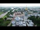 Полеты над Северной Фиваидой Фильм 1 Соборная горка Софийский собор Вологодский кремль