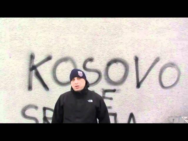 20 02 11 DEMONSTRACJA POPARCIA DLA SERBSKIEGO KOSOWA