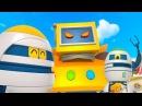 Мультики для детей Дино вперед 23 серия Мультфильм про машинки и животных Зайчики котики динозавр