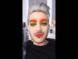 2016-04-27 Adam Lambert on Snapchat (3 snaps) - Flipped