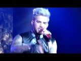 HD - Adam Lambert - Runnin' ChokeholdSleepwalker (live) @ Gasometer, Vienna 2016 Austria