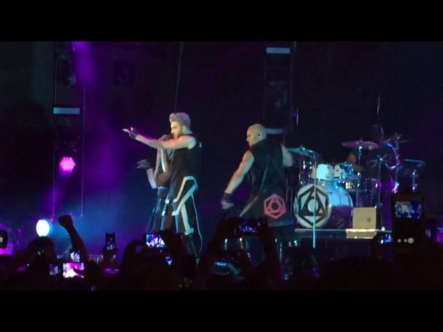 Adam Lambert - Intro/EITN/FYE @ TOH Tour Torwar Warsaw 30/04/2016