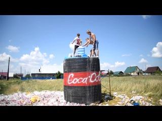 100 000 ЛИТРОВ КОКА КОЛЫ + МЕНТОС / 10 000 liters of Coca Cola Mentos