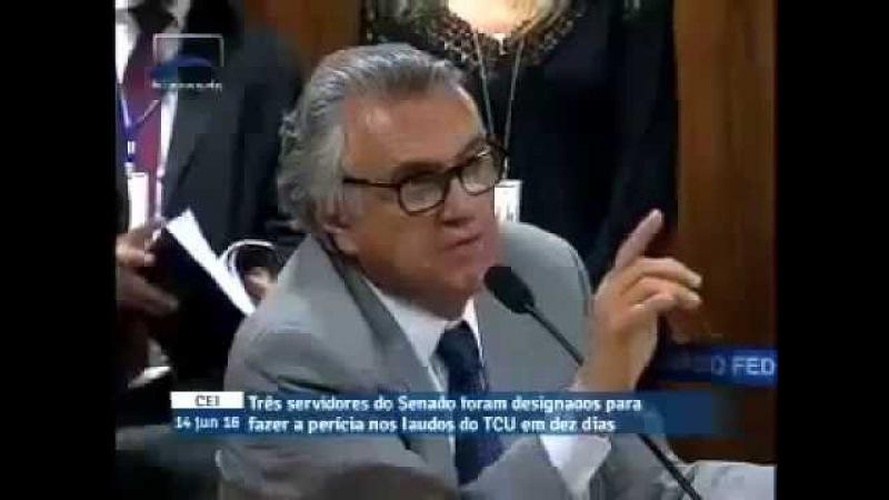 Vanessa Grazziotin tenta constranger Ronaldo Caiado e é humilhada na Comissão do impeachment