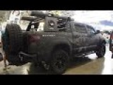 Toyota Tundra CrewMax Cab Pirat Marines Line-X - Offroad Tuning - Moscow Offroad Show 2015