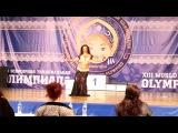 Каролина Якумайте!! World Dance Olympiad 2016!!! Tabla solo 2 place!!