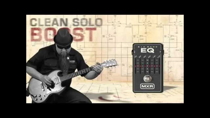 MXR M-109 6 Band EQ Demo Video - Equalizador Gráfico