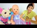 Как МАМА Сборник с куклой Беби Бон
