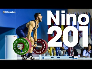 Antonino Pizzolato (85kg, 19 y/o) 201kg Clean and Jerk 2016 Junior World Weightlifting Championships