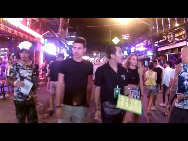 VLOG 1 Bangla Road Patong Beach Phuket Thailand 2017