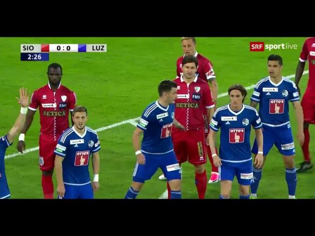 FC Sion 0-0 FC Luzern (6-5 n.P) SCHWEIZER CUP - HALBFINALS 05.04.2017