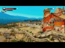 WITCHER 3 Blood and Wine FREECAM SKY VIEW / GAMING SPOILERS