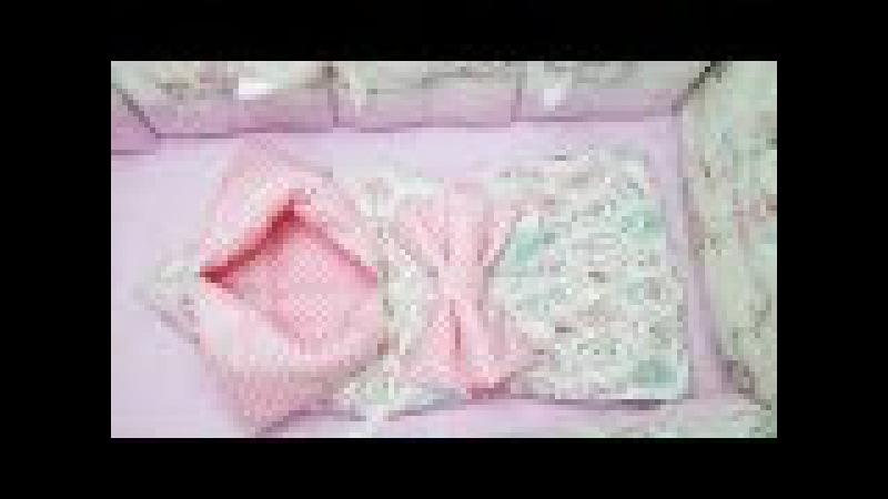 Конверт трансформер своими руками / transformed into a baby blanket