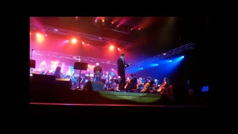 Би 2 Варвара с симфоническим оркестром Красноярск 23.04.16