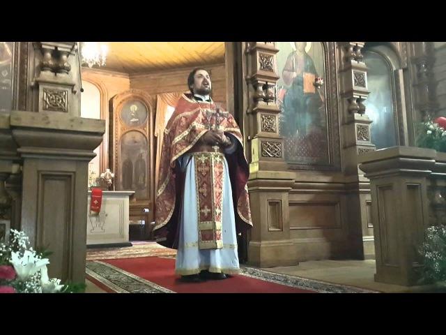 Проповедь иерея Сергия Чекоданова о Пасхальной радости