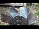 Часть 1. ремонт мини ГЭС, Автономная жизнь в лесу Hydroelectric own hands