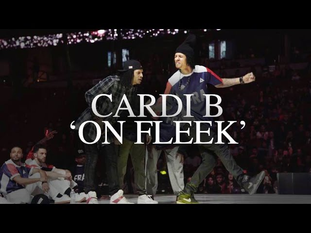 Cardi B On Fleek feat Les Twins x Waydi x Boubou @ KOD | YAK DanceOnFleek