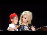 Lady Gaga and Little Monster