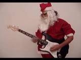 Santas Rock - Smoke on the Water by Deep Purple