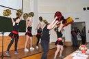 Танцевально-футбольный номер - студенты группы 131 (I курс)