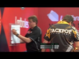Adrian Lewis vs Cristo Reyes (PDC World Series of Darts Finals 2016 / Round 2)