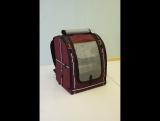 Сборка рюкзака-переноски для птиц