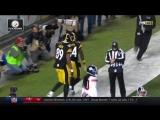 Antonio Brown pulls in jumping 22-yard TD reception