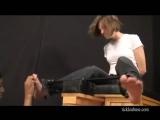 Lylas sock tease tickle!