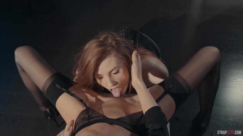 Rossy Bush, Mia Reese HD 1080, lesbian, strapon, pantyhose, lingerie, new porn