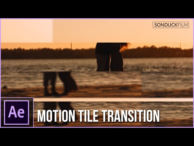 After Effects Tutorial: Seamless Motion Tile Transition