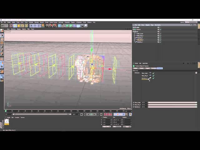 Mograph Transformer Effect C4D Tutorial HD