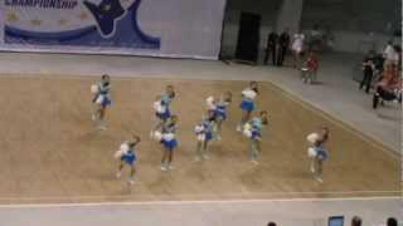DREAM TEAM Garwolin - ECA Sunshine Cheer Cup 2012 - Riccione, Italy