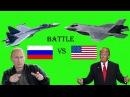 Americas F-35 vs Russias Sukhoi Su-35 - Multirole fighter. Who Wins