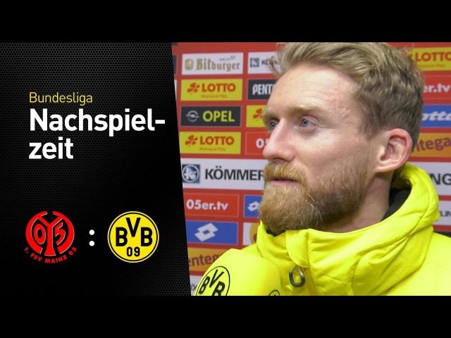 André Schürrle im Interview FSV Mainz 05 Borussia Dortmund 1 1