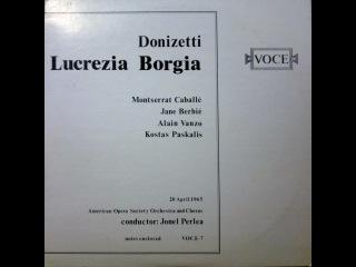 Lucrezia Borgia 1965 Full Opera, Vinyl Source