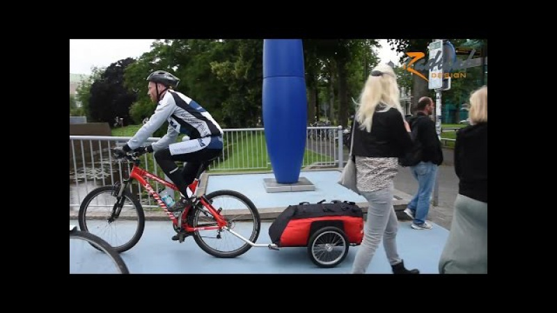 Bicycle Trailer Cyclone - The Expedition and Long Distance Bike Trailer   Radical Design