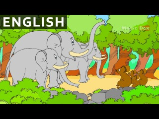 Elephant And Mice - Panchatantra In English - Cartoon / Animated Stories For Kids