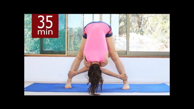 Флоу йога на все телобалансы - 35 мин | Уровень 2 | chilelavida