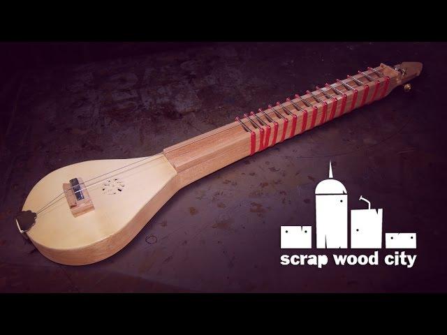 2 string tambura inspired by Indian music