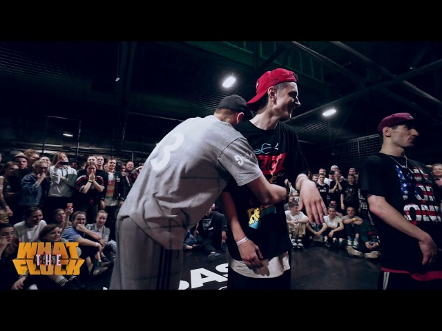 What The Flock vol.4   Hip-Hop 2x2 Semifinal - Dam'en Kadet vs Maximus Ego