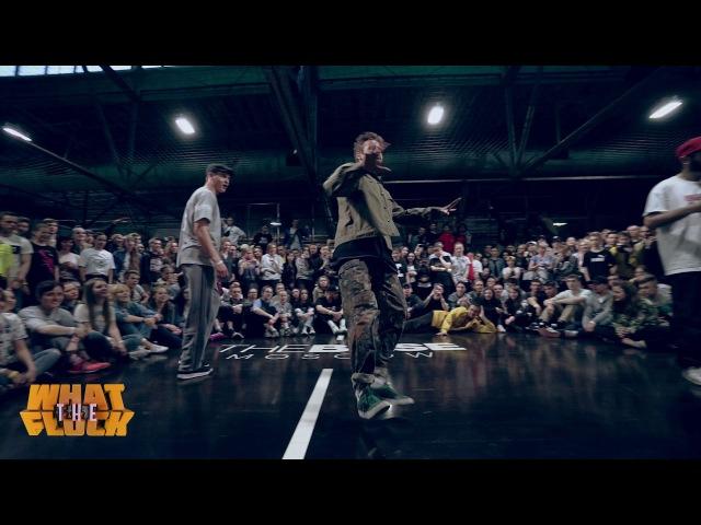 What The Flock vol.4   Hip-Hop 2x2 1/8 final - Dam'en Kadet vs Ronin Banani