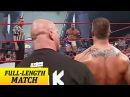 Goldberg vs. Randy Orton: Raw, Aug. 18, 2003