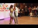 Kizomba Dubai Latin Fest 2016. Kizomba artists dancing with each other.