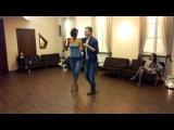 Ivan Kravchenko & Ksenia Kozlovskaya, salsa workshop 2.04.2017