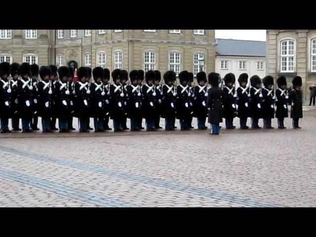 Changing of the Guard, Amalienborg Palace, Copenhagen